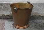 BRASS TEMPLE BUCKET