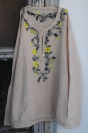 EMBROIDERED KURTA   $158.