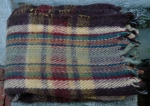 LARGE PLAID BLANKET   $208.