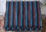 RUSTIC STRIPE THROW   $108.