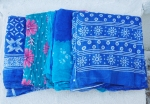GRAPHIC DUPATTA BLUES